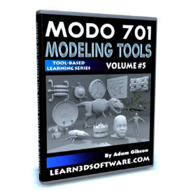 modo 701 modeling tools-volume #5