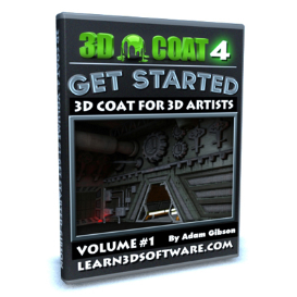 3d coat 4- volume #1-getting started