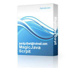 MagicJava Scrpit | Software | Software Templates