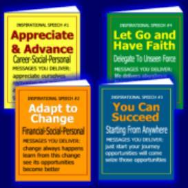 4 Inspirational Speeches | eBooks | Self Help