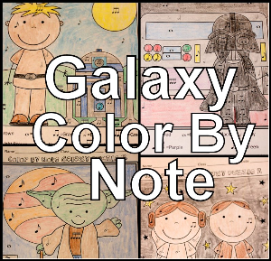 galaxy color by note set