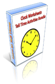 clock worksheets and tell time activities printables