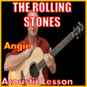 learn to play angie by the rolling stones