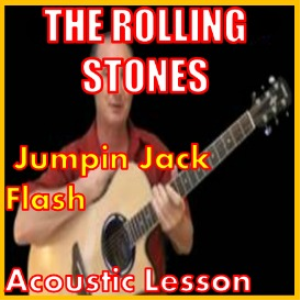 Learn to play Jumpin Jack Flash by The Rolling Stones | Movies and Videos | Educational