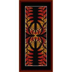 Fractal 419 Bookmark -  cross stitch pattern by Cross Stitch Collectibles | Crafting | Cross-Stitch | Other