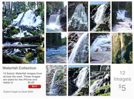 iPhone Scenics Waterfalls Collection | Other Files | Wallpaper