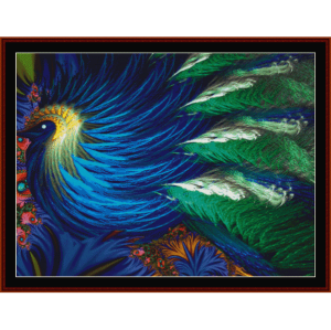 Fractal 418  cross stitch pattern by Cross Stitch Collectibles | Crafting | Cross-Stitch | Other