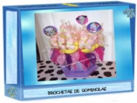 brochetas de gominolas
