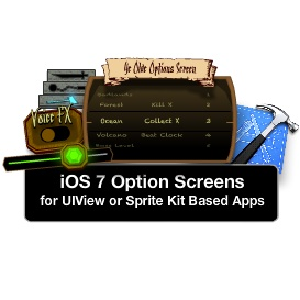 ios options screen tutorial