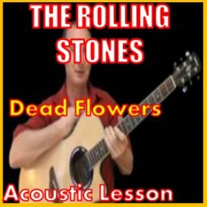 learn to play dead flowers by the stones