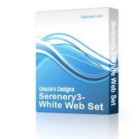 Serenery3-White Web Set | Software | Design Templates