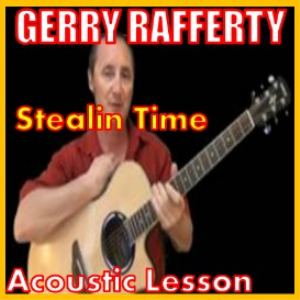 learn to play stealin time by gerry rafferty