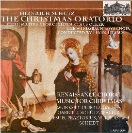 schütz: the christmas oratorio (1664) - renaissance choral christmas music