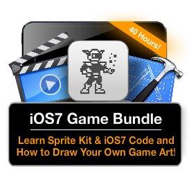 ios7 and sprite kit game & art bundle edumobile discount