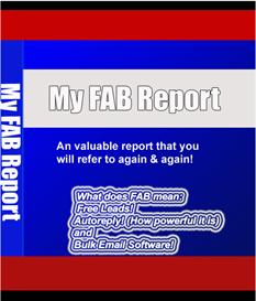 My FAB Report | eBooks | Internet