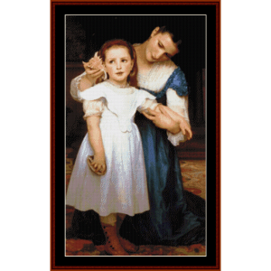 The Seashell - Bouguereau cross stitch pattern by Cross Stitch Collectibles | Crafting | Cross-Stitch | Other