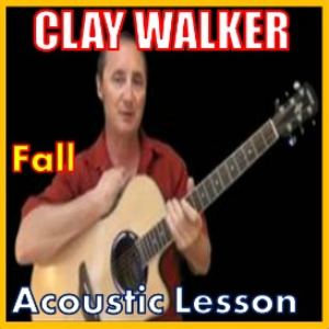 learn to play fall by clay walker