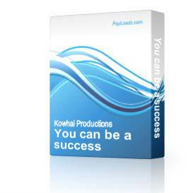 You can be a success | Software | Business | Other