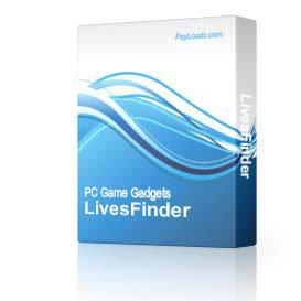 LivesFinder | Software | Games