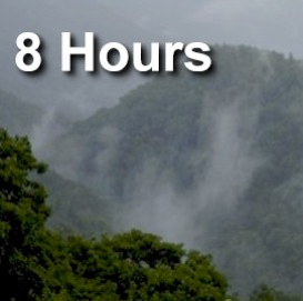 smoky mountain rain - 8 hours