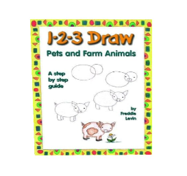 1-2-3 draw pets and farm animals (pdf)
