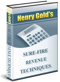 Sure-Fire Revenue Techniques | eBooks | Business and Money