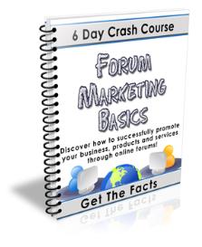 basic forum marketing tutorial