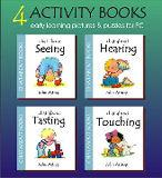 Four PC preschool ebooks on the Senses | eBooks | Children's eBooks