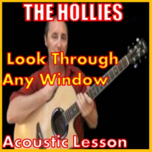 learn to play look through any window by the hollies