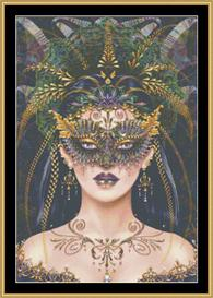 Black Masquerade - Maxine Gadd | Crafting | Cross-Stitch | Other
