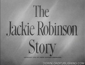 the jackie robinson story - movie 1950 baseball drama download .mpeg
