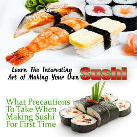 learn to make sushi at home (mp3 audio)