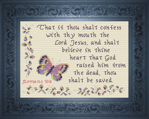 Thou Shalt be Saved | Crafting | Cross-Stitch | Other