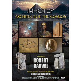 robert bauval: imhotep: architect of the cosmos - origins 2013