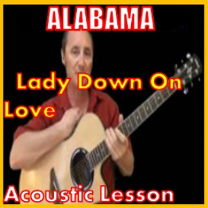 learn to play lady down on love by alabama