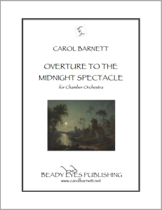 Overture to the Midnight Spectacle - Score and Parts (PDF) | Music | Classical