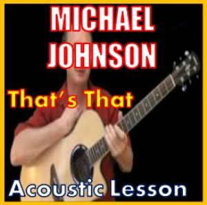 learn to play that's that by michael johnson
