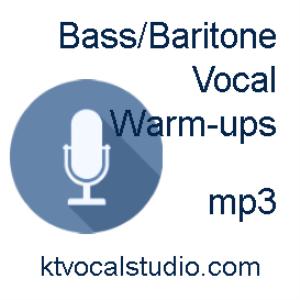 warm-ups for bass/baritone mp3