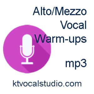 warm-ups for mezzo/alto mp3