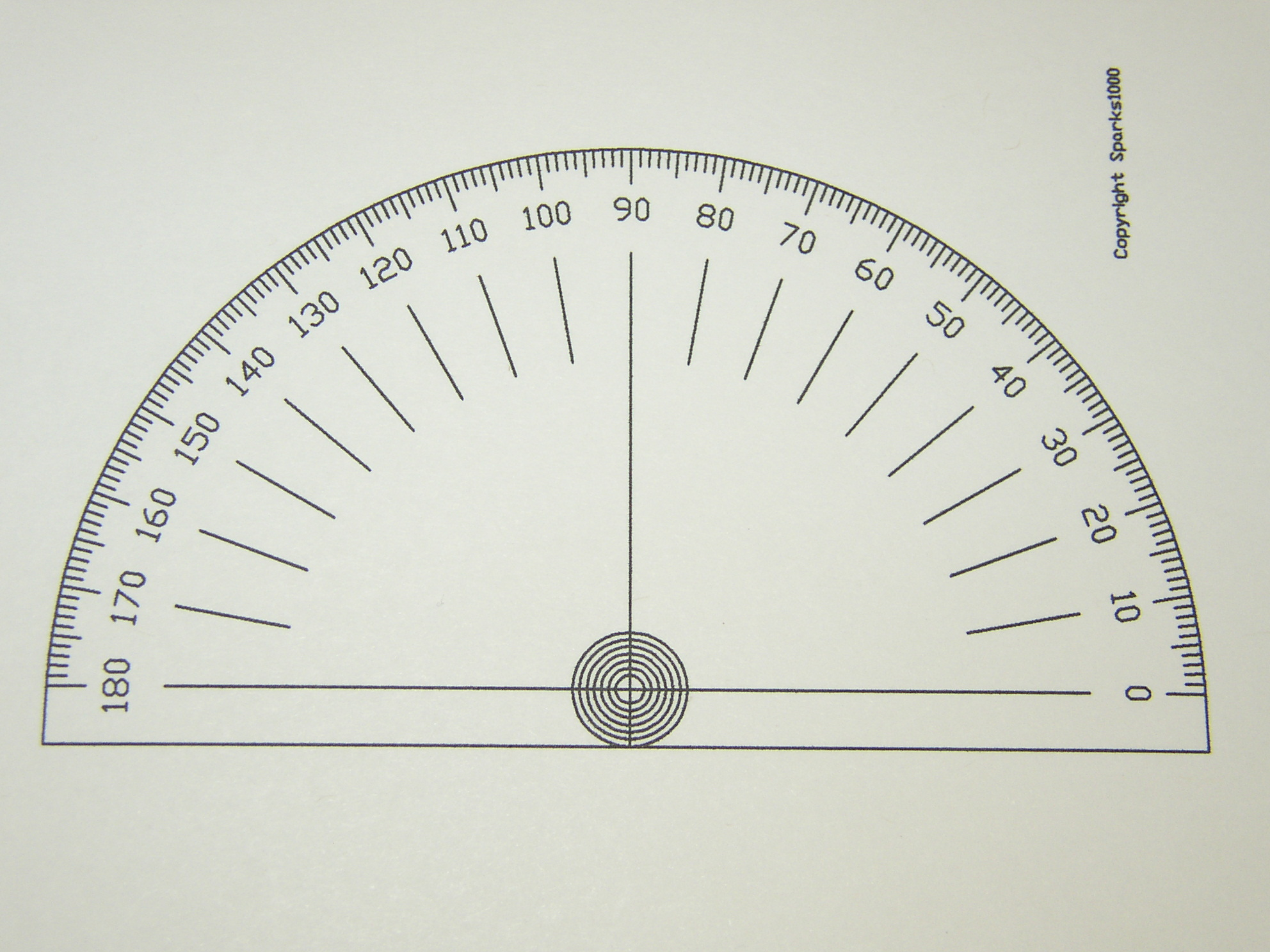First Additional product image for - Printable Cam Degree Wheels and Protractors
