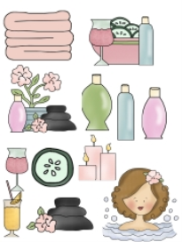spa day collection - .sew format