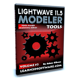lightwave 11.5 modeler volume #3