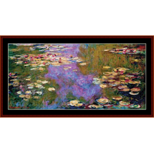 Waterlilies 1919 - Monet cross stitch pattern by Cross Stitch Collectibles | Crafting | Cross-Stitch | Other