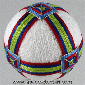 Buckles and Bands Temari | Other Files | Arts and Crafts