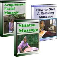 """Shiatsu/Facial/How To Give a Relaxing Massage Download Combo"" + Free Head Neck Shoulders Video"