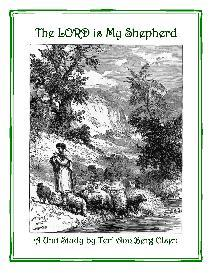 The Lord is My Shepherd - Psalm 23 Unit Study