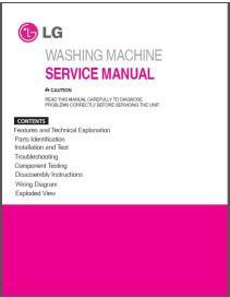 LG WT5101HW Washing Machine Service Manual Download | eBooks | Technical