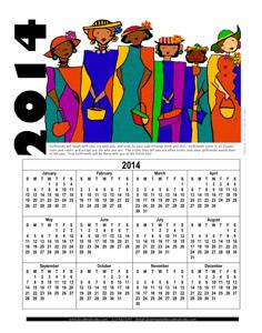 calendar - 2014