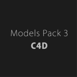 models pack 3 for ( c4d )