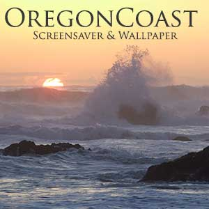 oregon coast screen saver & wallpaper